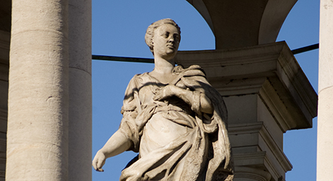 Queen Caroline Statue, Queen's College, Oxford