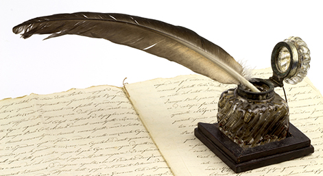 Quill on English Text