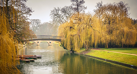 Cam river, Cambridge