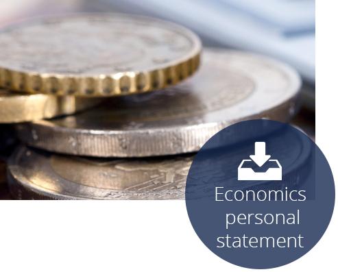 Economics personal statement 1