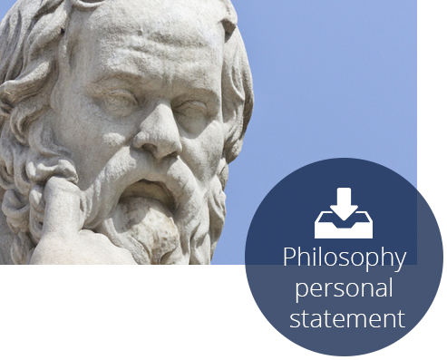Philosophy personal statement