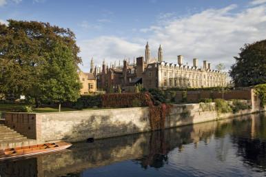 Clare College, Cambridge, UK.