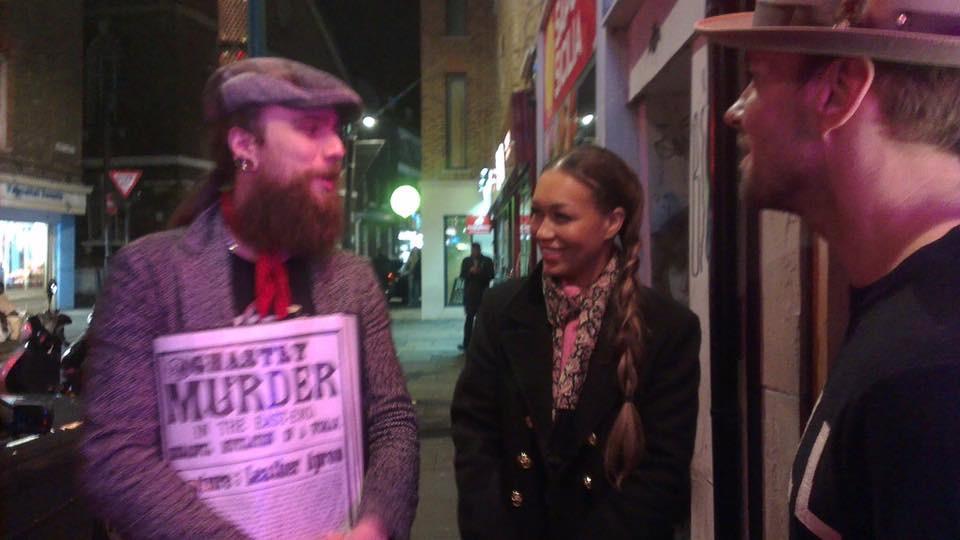 Rebecca Ferguson and Matt Goss