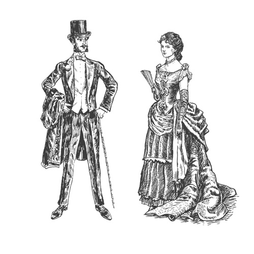 victorian-lady-gentleman