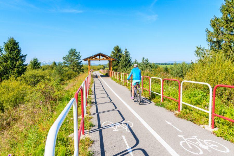 Cyklochodník Trstená – Nowy Targ