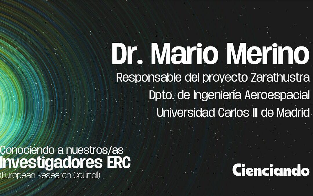 Entrevista a nuestro IP, Mario Merino, en Cienceando (AEAC)