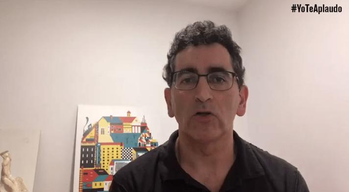 Juan Mayorga, dramaturgo, apoya #YoTeAplaudo