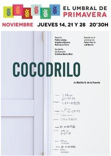 Cocodrilo, de Mattis G. de la Fuente en El umbral de Primavera