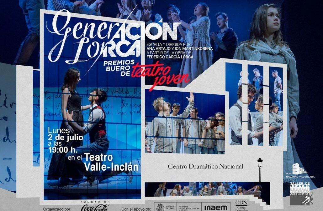 """«Generación Lorca» finalista en los XV Premios """"Buero"""" de Teatro Joven"""