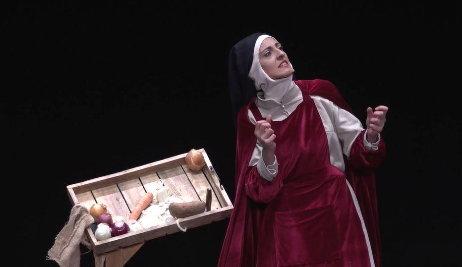"""""""La lengua en pedazos"""" muestra en el Paraninfo la utopía de Santa Teresa frente a la Inquisición"""