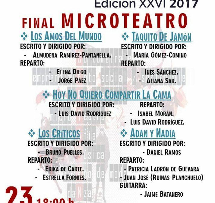 Finalistas del XXVI Certamen de Jóvenes Creadores de Madrid