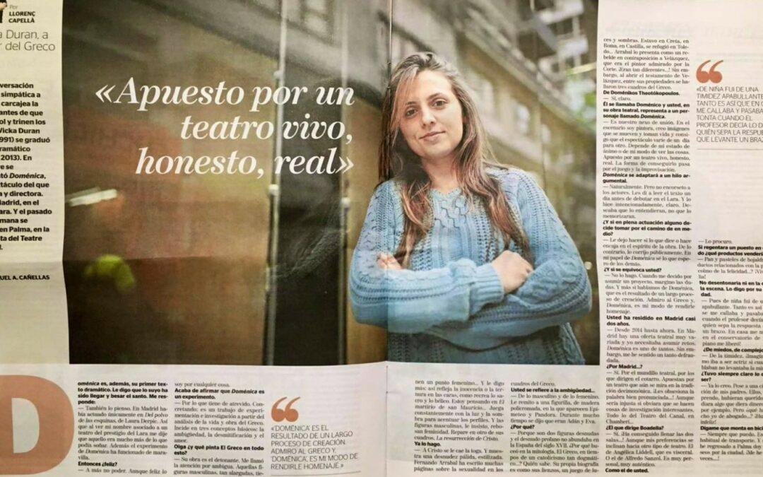Entrevista a Vicka Duran