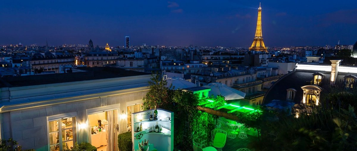 rooftop bars Paris
