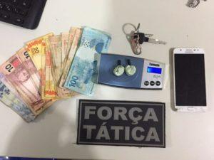 Polícia prende suspeito de tráfico no bairro Morada do Sol 1