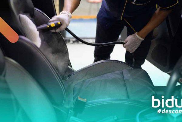 tipos de limpeza de carro