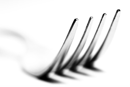 empty fork