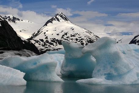 alaska icebergs
