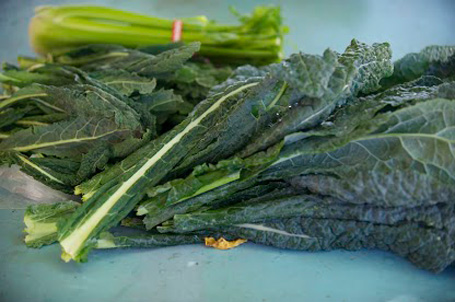kale and celery