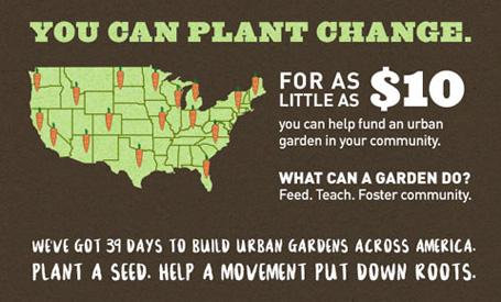 urban garden locator