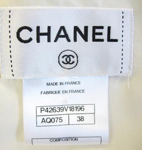 Chanel label
