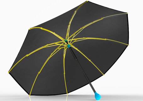 Sustainable umbrella by Ginkgo
