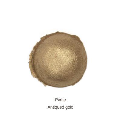 pyrite eye shadow