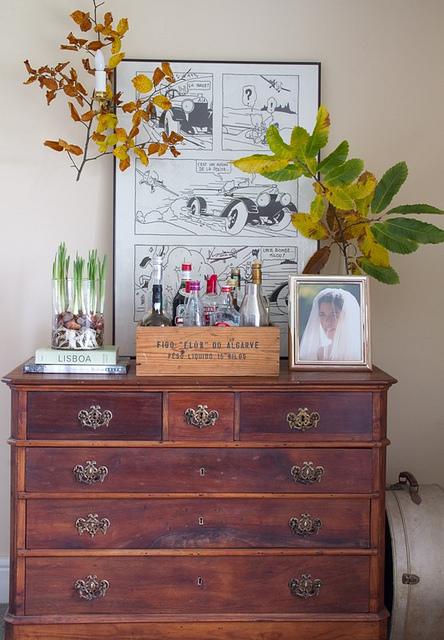 Cottage style dresser.