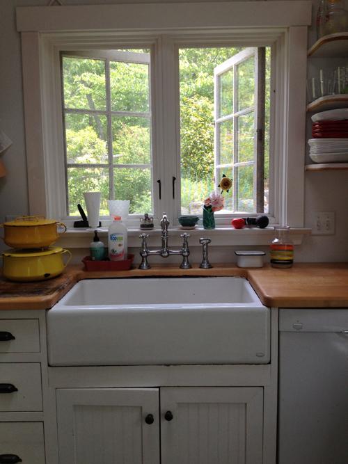 Cottage style kitchen.