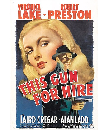Classic Hollywood Beauty Veronica Lake This Gun for Hire 2