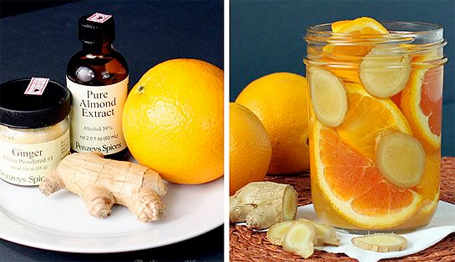 Fall Room Scents Recipes Orange Ginger