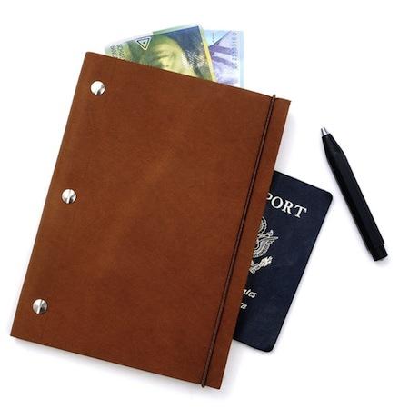 leather notebook zady