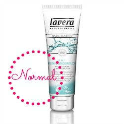 How to Wash Your Face Lavera Basis Cleansing Milk