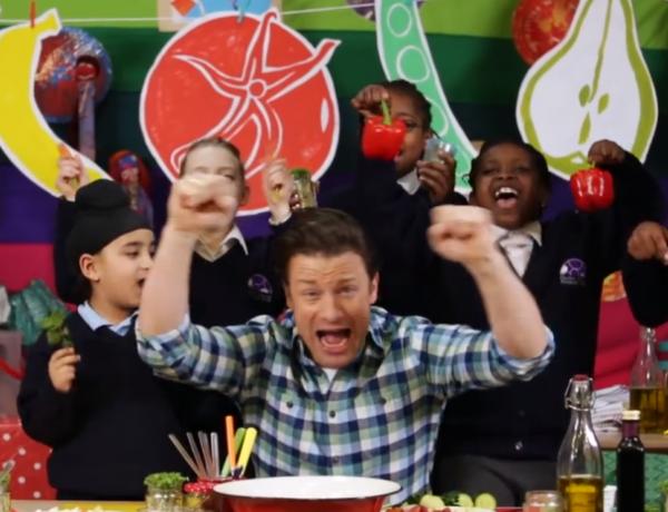 Jamie Oliver is starting a food revolution.