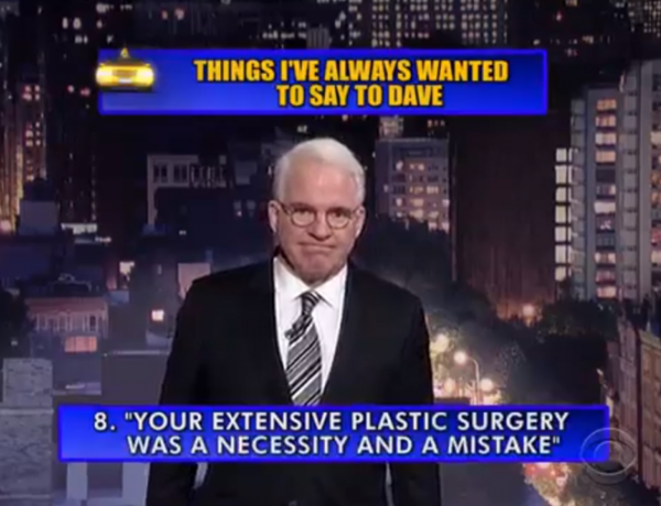 David Letterman had his last show. Here's the Top 10.