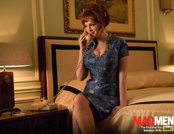 "Joan was a great character on the show ""Mad Men."""