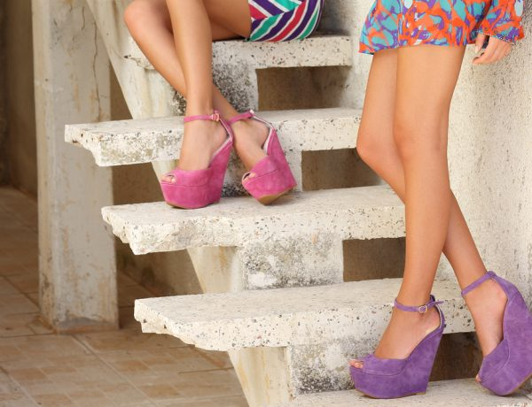 Wedge platforms are in this season.