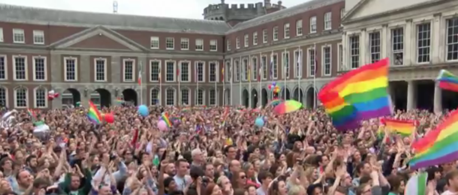 The gay marriage vote was a yes in Ireland.