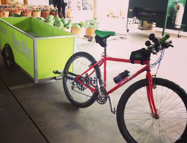 Food bikes are just as awesome as food trucks.