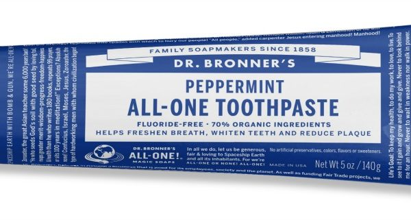 Dr. Bronner's Magic Toothpaste? All-One for Healthy Teeth