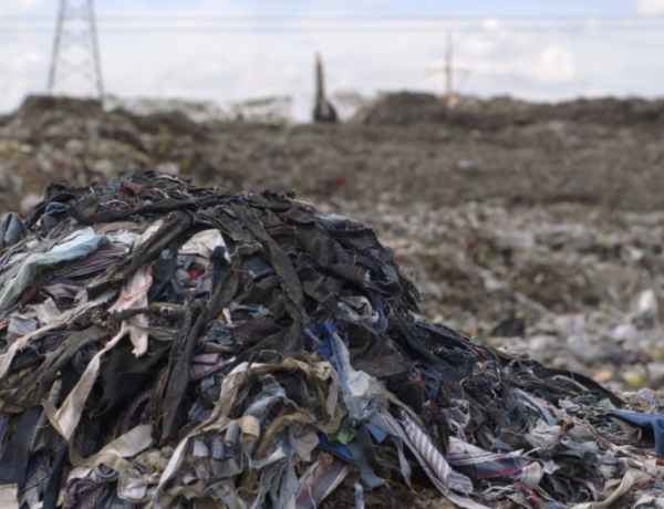 Fast fashion is filling landfills.