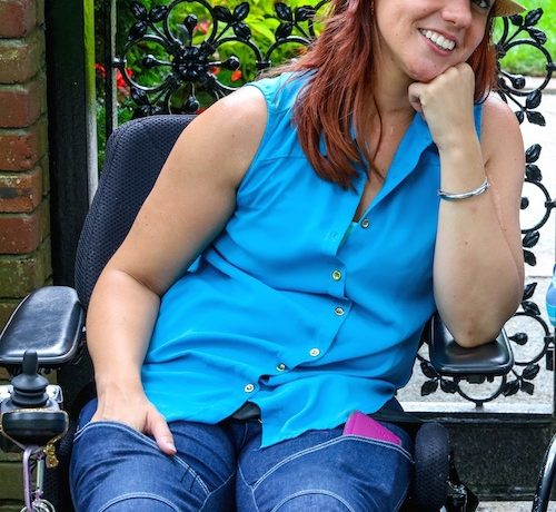 Heidi McKenzie is creating fashion-forward clothing for people in wheelchairs.