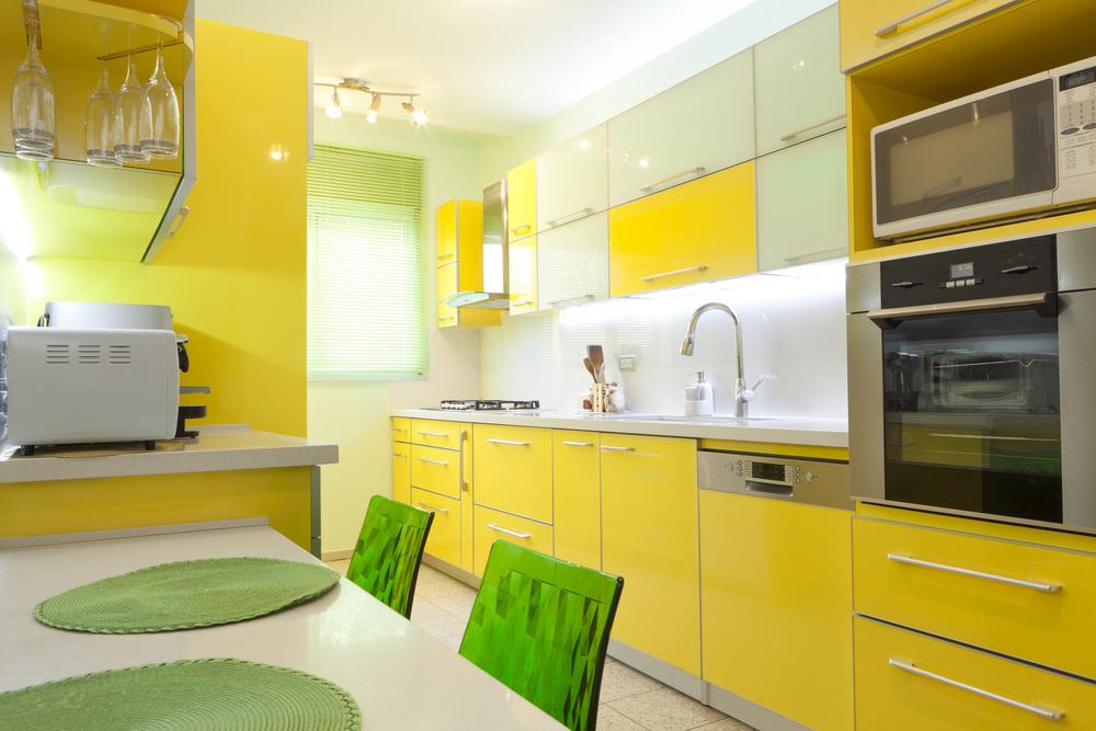 5 Yellow Kitchen Decor Ideas For The Color Adventurous Ecosalon
