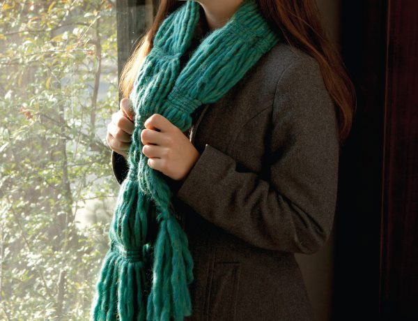 No-knit yarn projects to bust your stash.