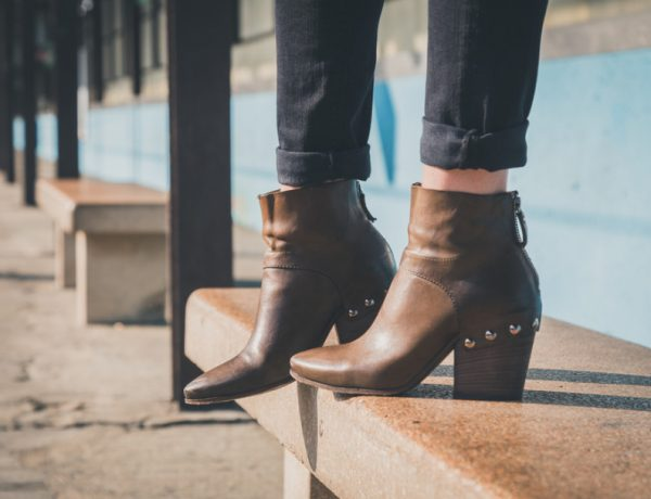 Ankle boots are great fall accessories.