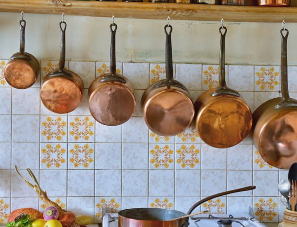 Wonderful and quirky copper accents to add to your kitchen.