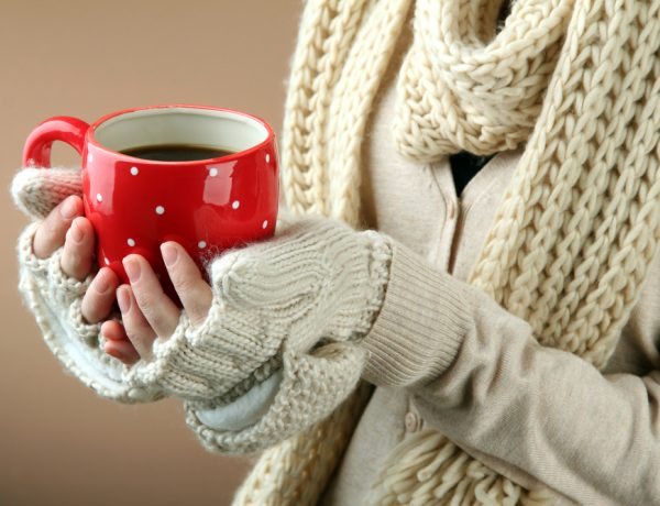 Hot drinks to warm you up.