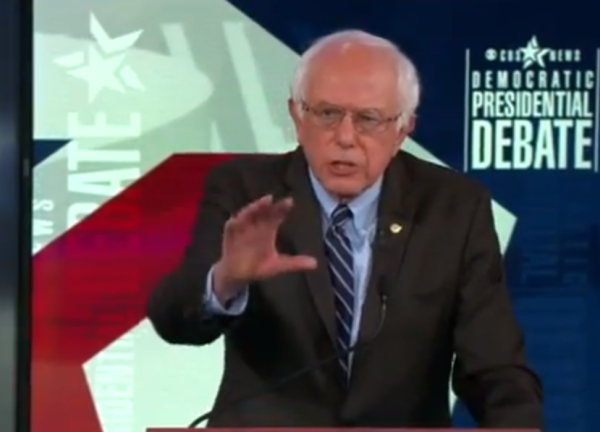 Bernie Sanders doesn't want us to forget how dangerous climate change is.