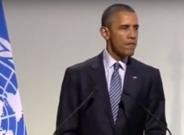 Obama has some thoughts about climate change.