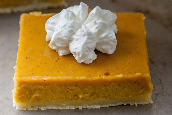 Decadence Meets Figure-Friendly: Sugar and Gluten-Free Mini Maple Pumpkin Cheesecake Bars