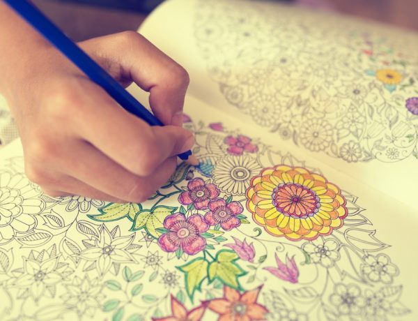 Adult coloring is all the rage this year.